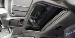 Sunroof header repair