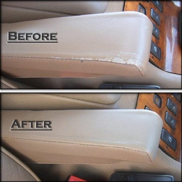leather repair car